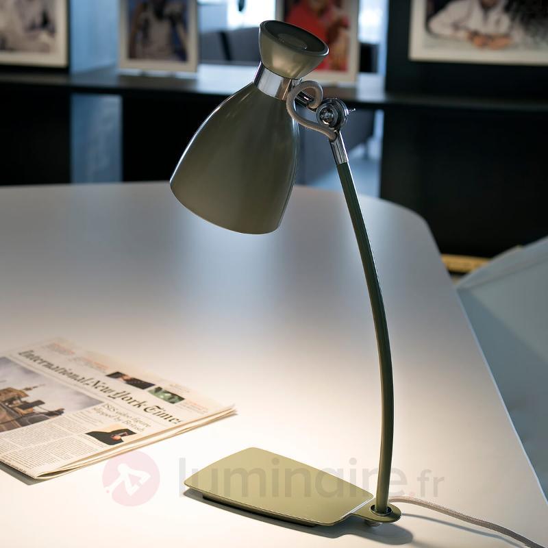 Lampe de bureau Retro vert olive - Lampes de bureau