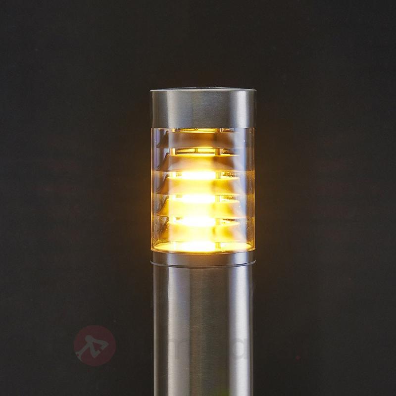Borne lumineuse Enja en inox - Toutes les bornes lumineuses