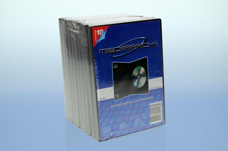 DVD Boxen 10er Pack - MPI - 14mm - schwarz - Retailverpackungen & Zubehör