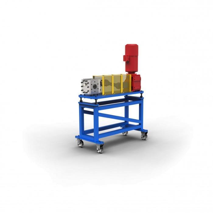 Bomba para material fundido - Bomba de fusión para la producción de no tejidos y para su uso en la extrusión