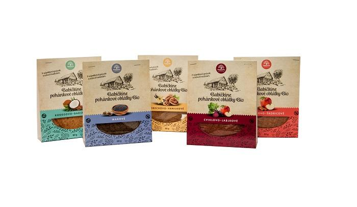 HAPPYLIFE ORGANIC GRANDMA´S BUCKWHEAT WAFERS - Crispy buckwheat wafers made according to a traditional recipe.