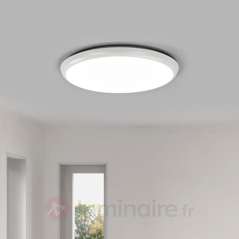 Plafonnier LED Augustin de forme ronde, 40 cm - Plafonniers LED
