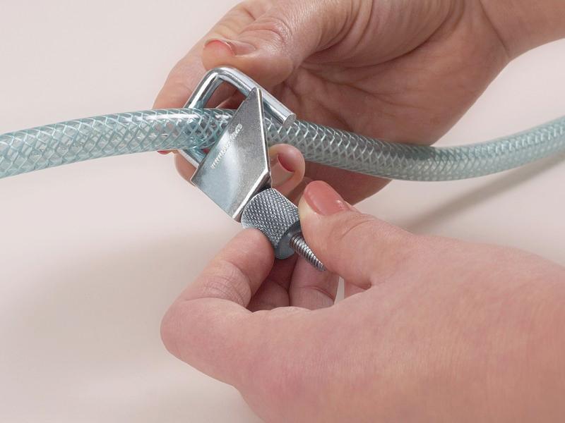 stop-it metal - Hose clip for flexible hoses, galvanised steel and aluminium