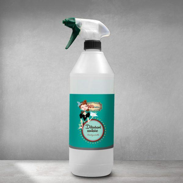 Détartrant Sanitaire Spray 60'solution - null