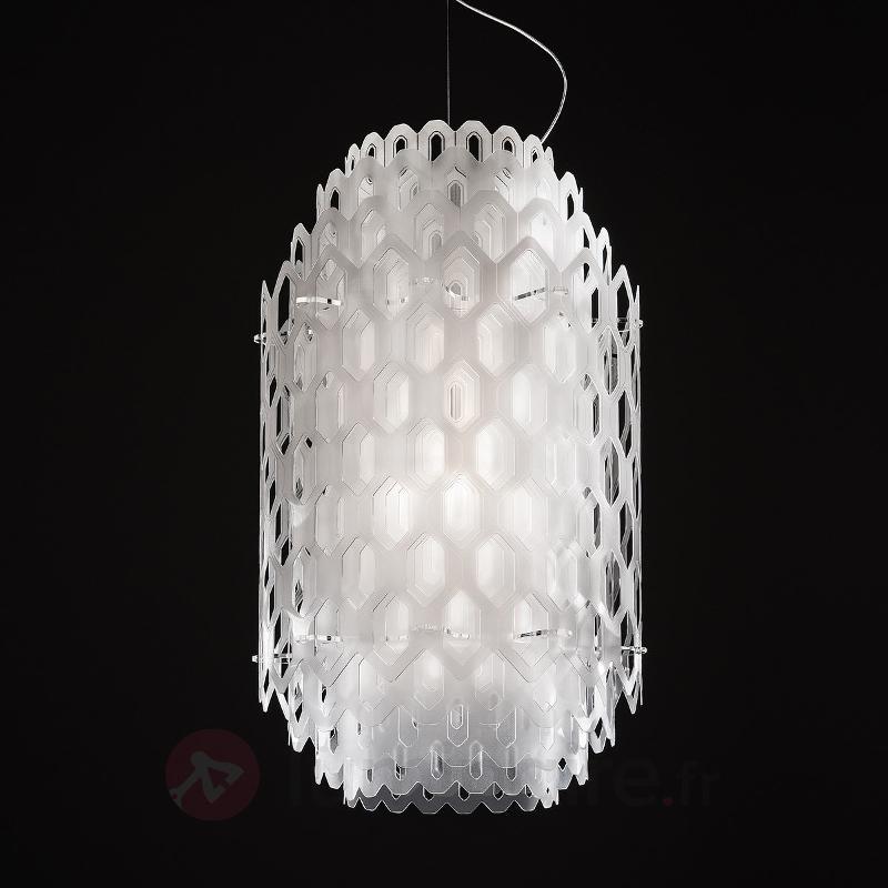 Suspension de designer multicouches Chantal, blanc - Suspensions design