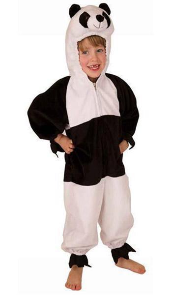 Costume enfant de panda - null