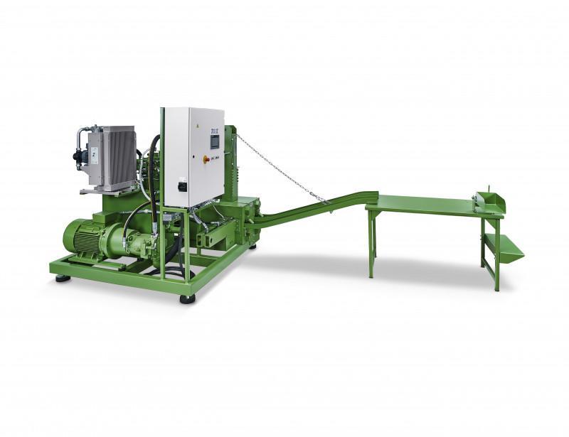 RUF LIGNUM series - Sistemas de briquetado de la serie RUF LIGNUM para madera