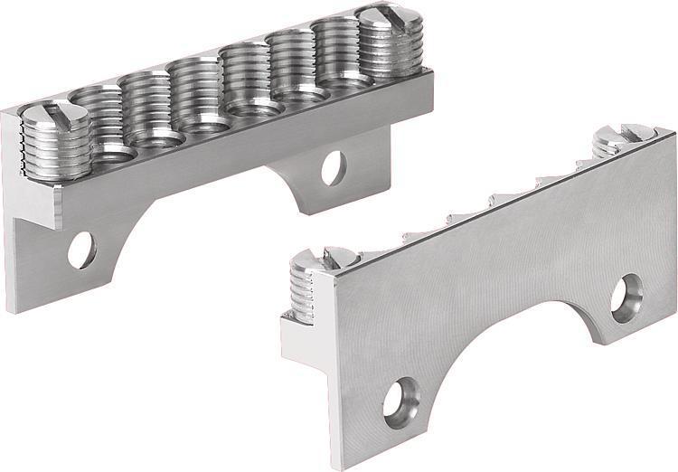 Kit de serrage pour pièces rondes - Etau de bridage 5 axes compact