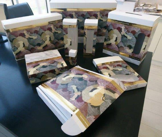 подарочные коробки - гофрированный картон