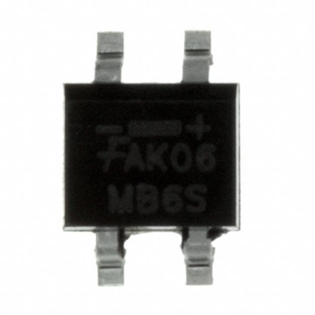 IC RECT BRIDGE 0.5A 600V 4SOIC - Fairchild/ON Semiconductor MB6S