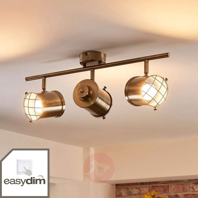 3-bulb Easydim ceiling lamp Ebbi with LEDs - indoor-lighting