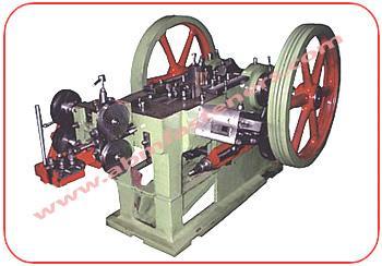 Wood Screw Making Plant - Wood Screw Making Machine - Heading Machine, Screw Head Slotting Machine, Thread Cutting Machine