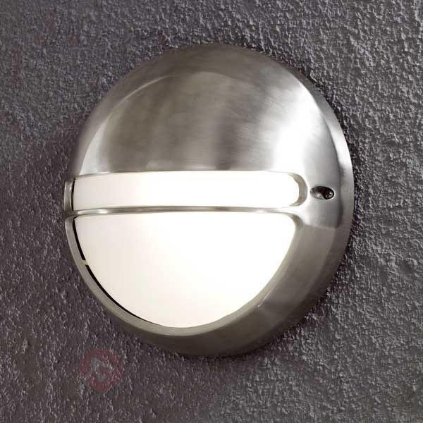 Applique d'extérieur Torino ronde - Appliques d'extérieur inox
