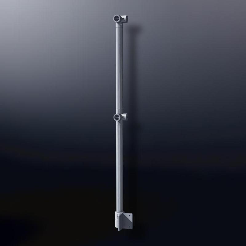 XT design tubular fittings - Corner Post Nr. 2030-XT