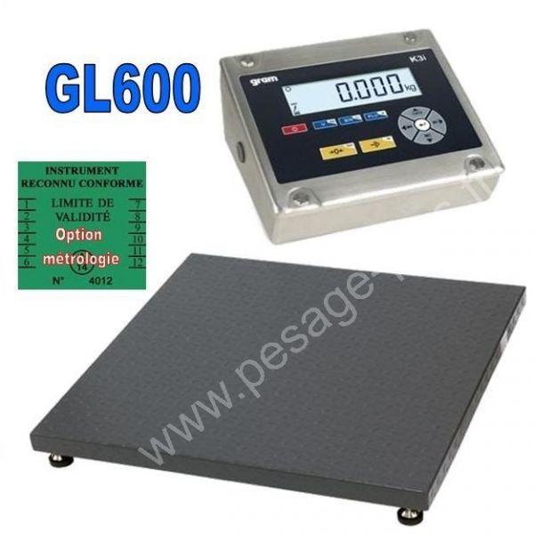 Balance industrielle 600Kgs/ 100grs - Balances industrielles