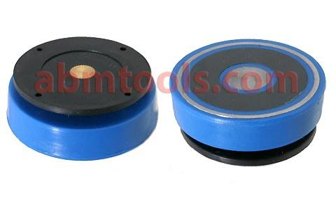 Magnetic Back for Dial Indicators - quick and easy means of attaching any AGD indicator to flat, ferrous surface