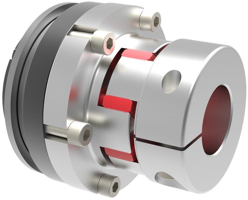 Safety coupling SKY-EK - Safety coupling with elastomer coupling attachment
