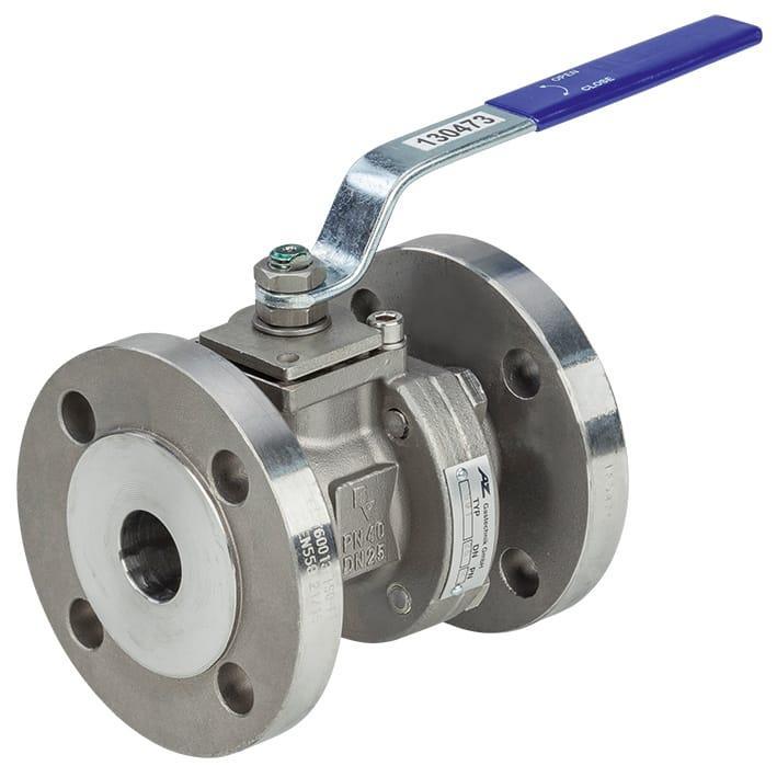 Ball Valves - Flanged ball valve made of stainless steel KS90 PN16/KS91 PN40