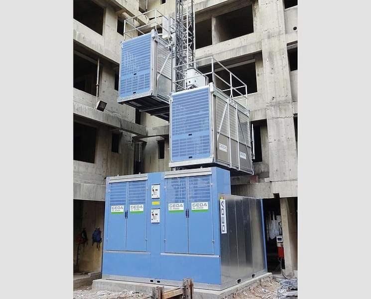 GEDA BL 2000 - GEDA BL 2000 - Personnel and Material Hoists