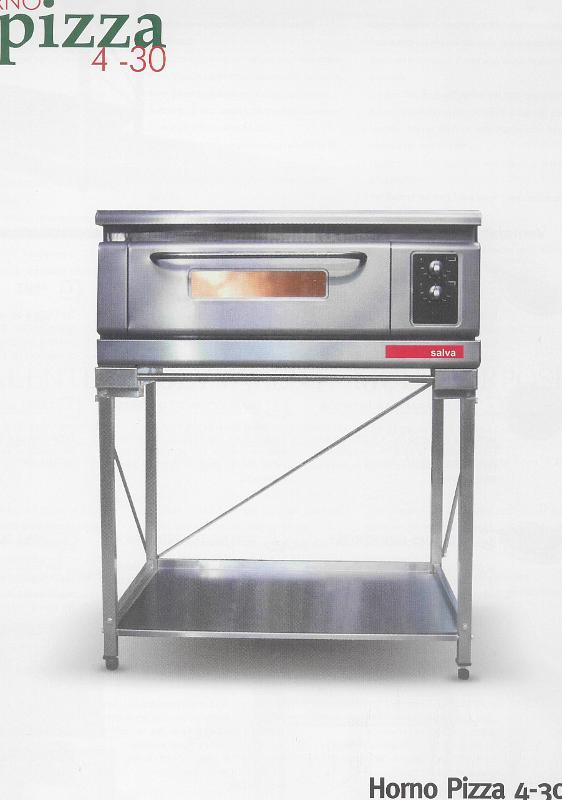 Pizzaovens - SALVA pizza oven 1 verdiep