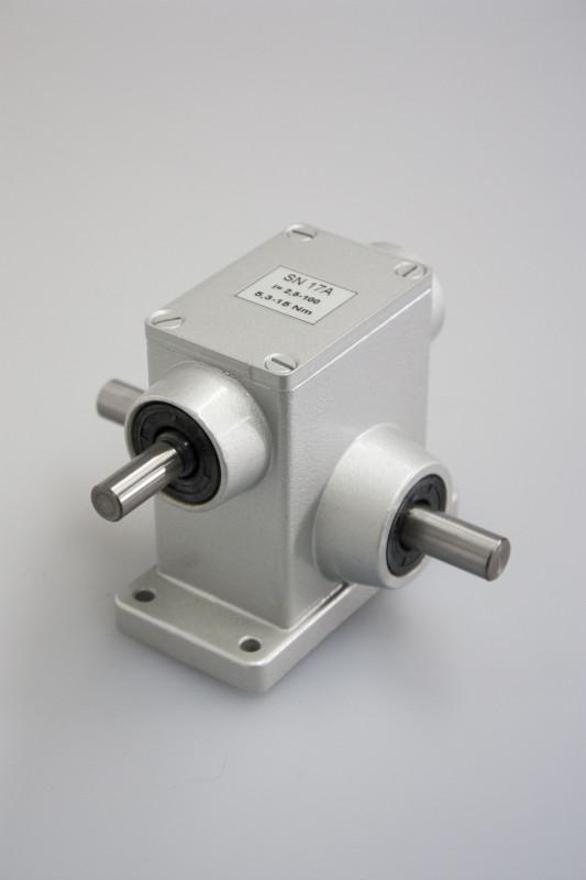 SN17A - Einstufiges Getriebe mit Ein- und Ausgangswelle