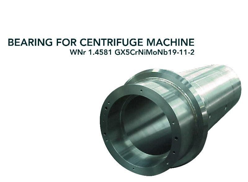 Bearing - Chemical industry - centrifuge machine