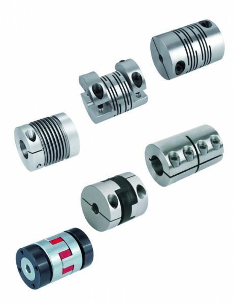 Federstegkupplungen, radiale Klemmnabe - Federstegkupplungen mit radialer Klemmnabe, Aluminium