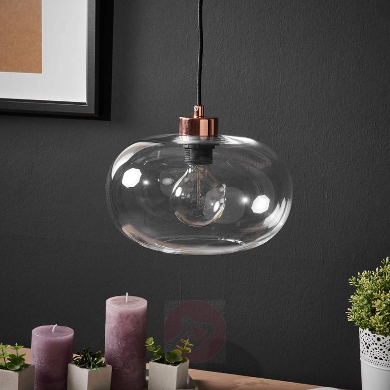 Sandness attractive glass pendant light - indoor-lighting