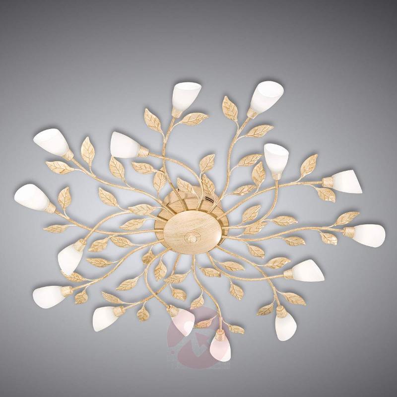 Jela LED ceiling light, Florentine, antique white - Ceiling Lights