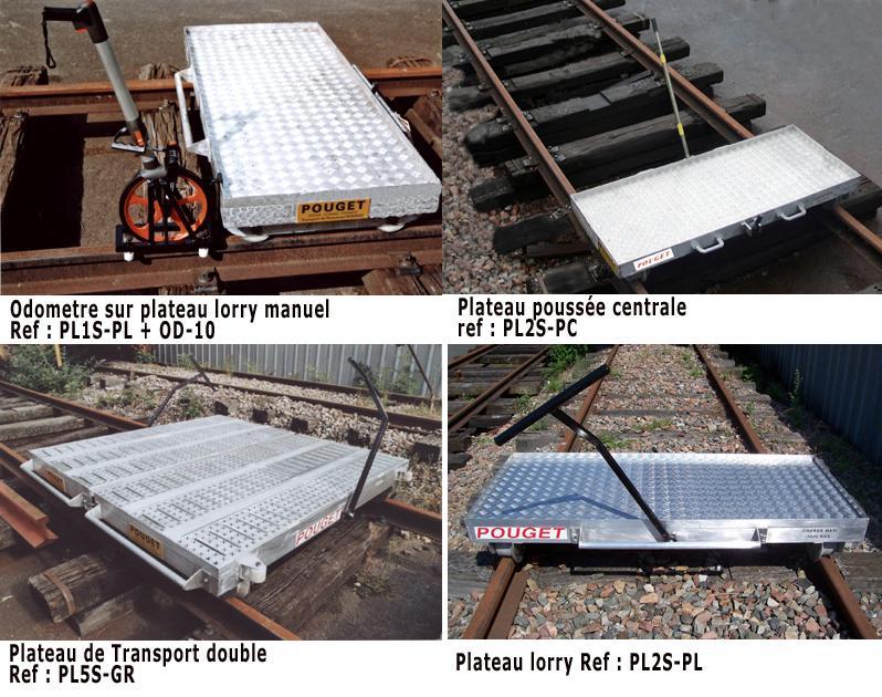 Rail Welding Equipment - Manual Lightweight Platform Trolleys