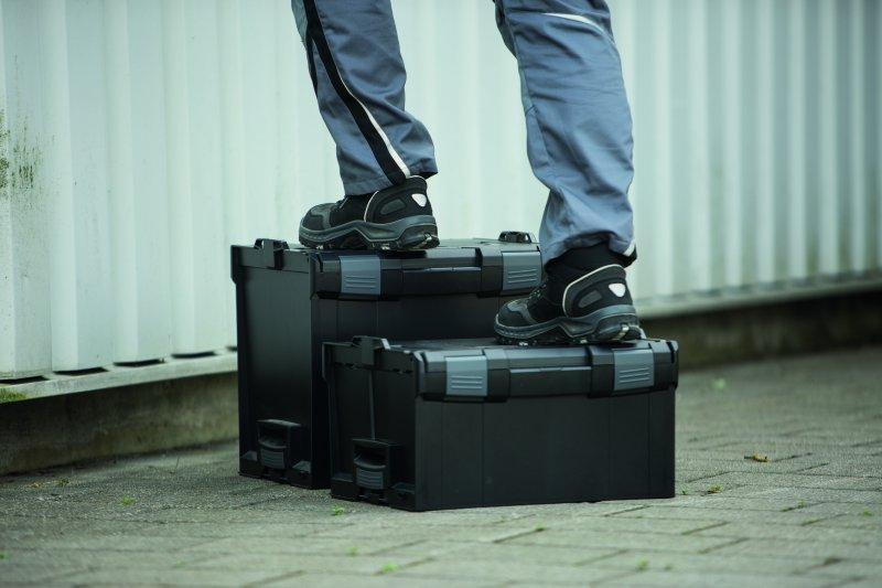 Système de valise, mallette et assortiment - L-BOXX 238 - La L-BOXX - un projet commun de Bosch et Sortimo