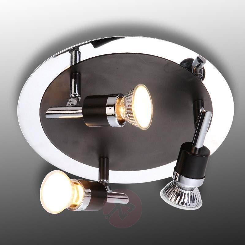 BLACK 3 Lamp Elegant Ceiling Lamp - Ceiling Lights