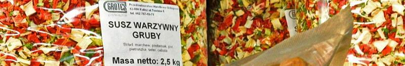 Chrzan grys - Susze warzywne