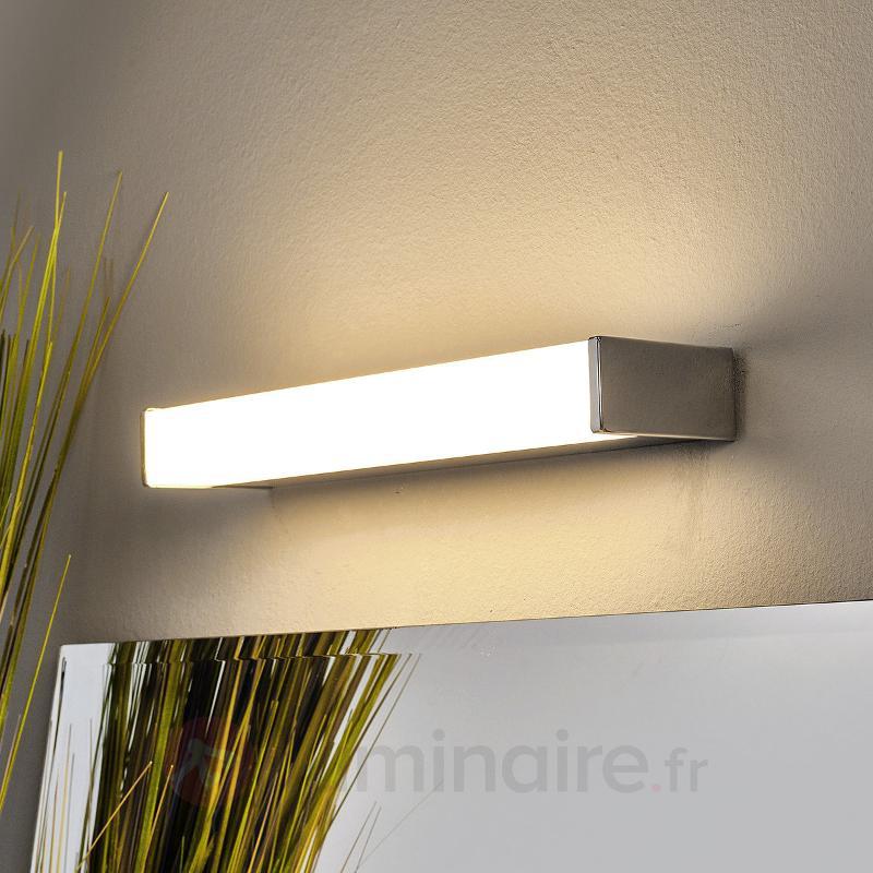 Applique pour salle de bain Philippa rectangulaire - Appliques LED