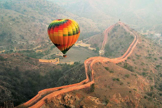 Jaipur through Hot air Balloon - Fly over the Pink City