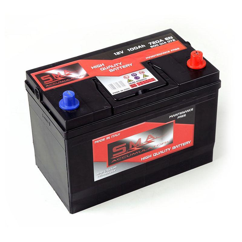 Asian Car battery 100 Ah 12V - Italian manufactures car batteries