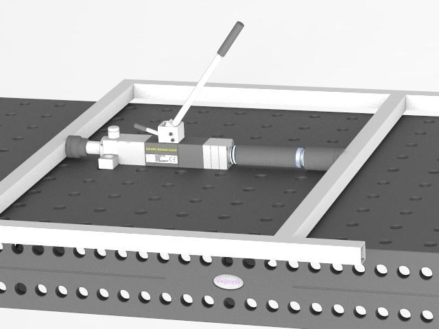 C-C-T Compact clamping tool - Zubehör für Schweisstische, halten, spannen, biegen