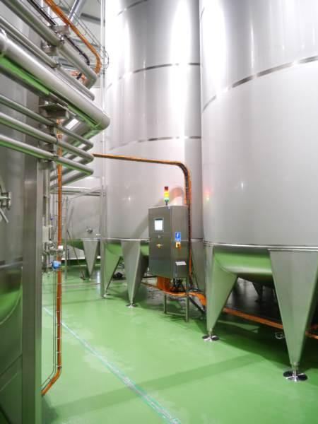 Stainless steel tanks for food industry  - Pulp tanks | Flat-bottom tanks | Storage tanks | Process tanks