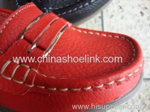 Women leather shoes - from China