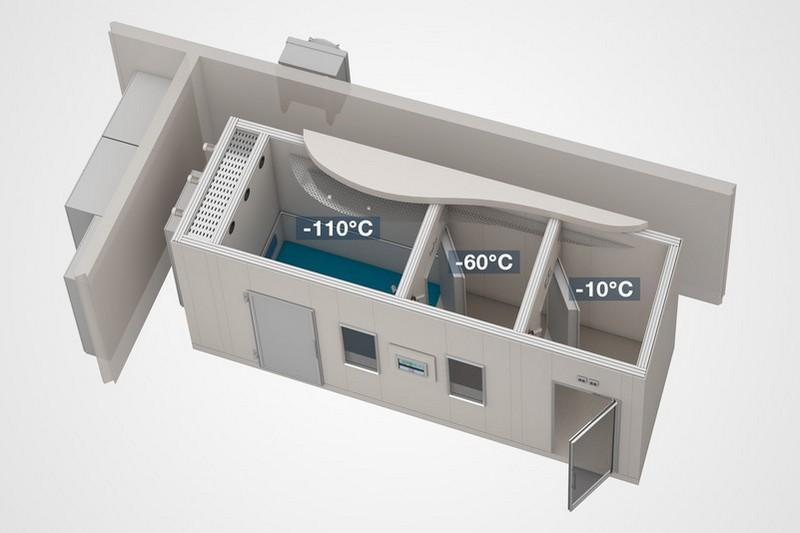 Cryosauna CrioSpace 3К  - Whole-body cryotherapy