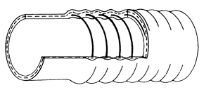 Corrugated Spiral Type Superflex - Lussoflex® Hoses