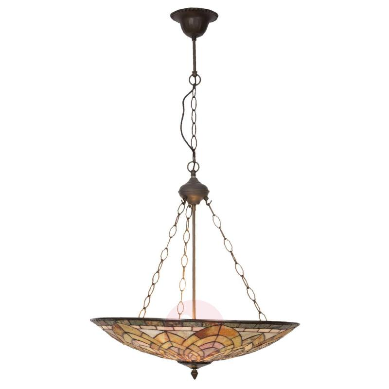 Decorative hanging lamp Catria Tiffany-style - Pendant Lighting