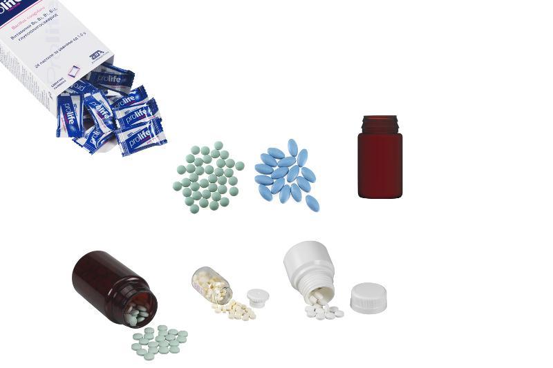 Bustine di poliaccoppiato, pilloliera, flow pack. - COMPRESSE, COMPRESSE MASTICABILI, COMPRESSE RIVESTITE, CAPSULE