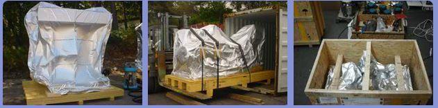 Calage marchandises (jusqu'à plusieurs tonnes) - Prestation d'emballage pour expéditions