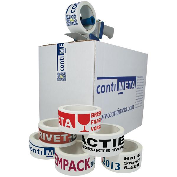 Bedrucktes Packband - Packband für manuelle Verarbeitung
