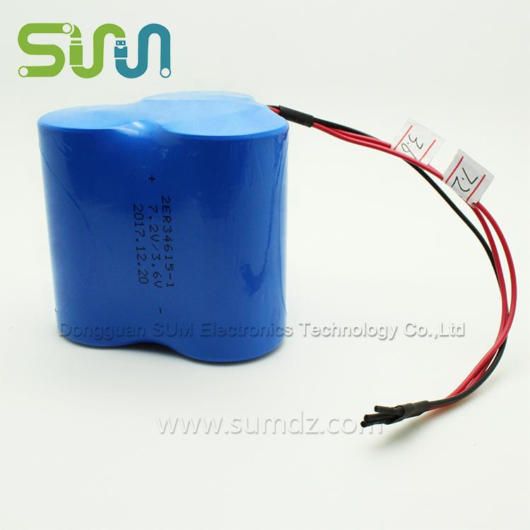 The Disposable Battery ER34651 3.6 / 7.2V Of 13000MAh - Disposable Battery