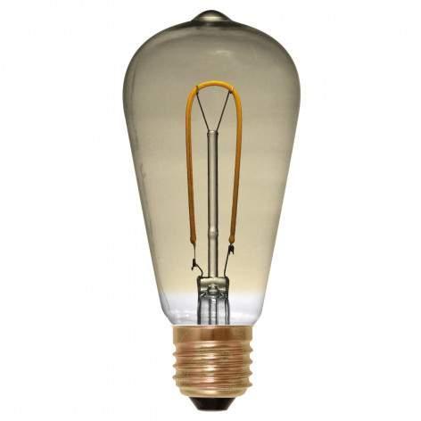 E27 4 W 922 LED bulb Curved Line, clear - light-bulbs
