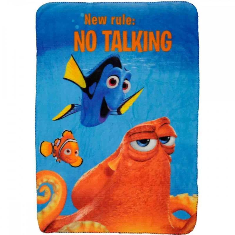6x Plaids polaires Nemo 140x100 - Linge de maison