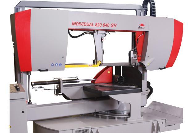 Scie à ruban semi-automatique  - INDIVIDUAL 820.640 GH