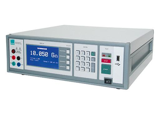 Digital teraohmmeter - RESISTOMAT® 2408 - Digital teraohmmeter,bench-top,high degree of accuracy,Automatic range selection